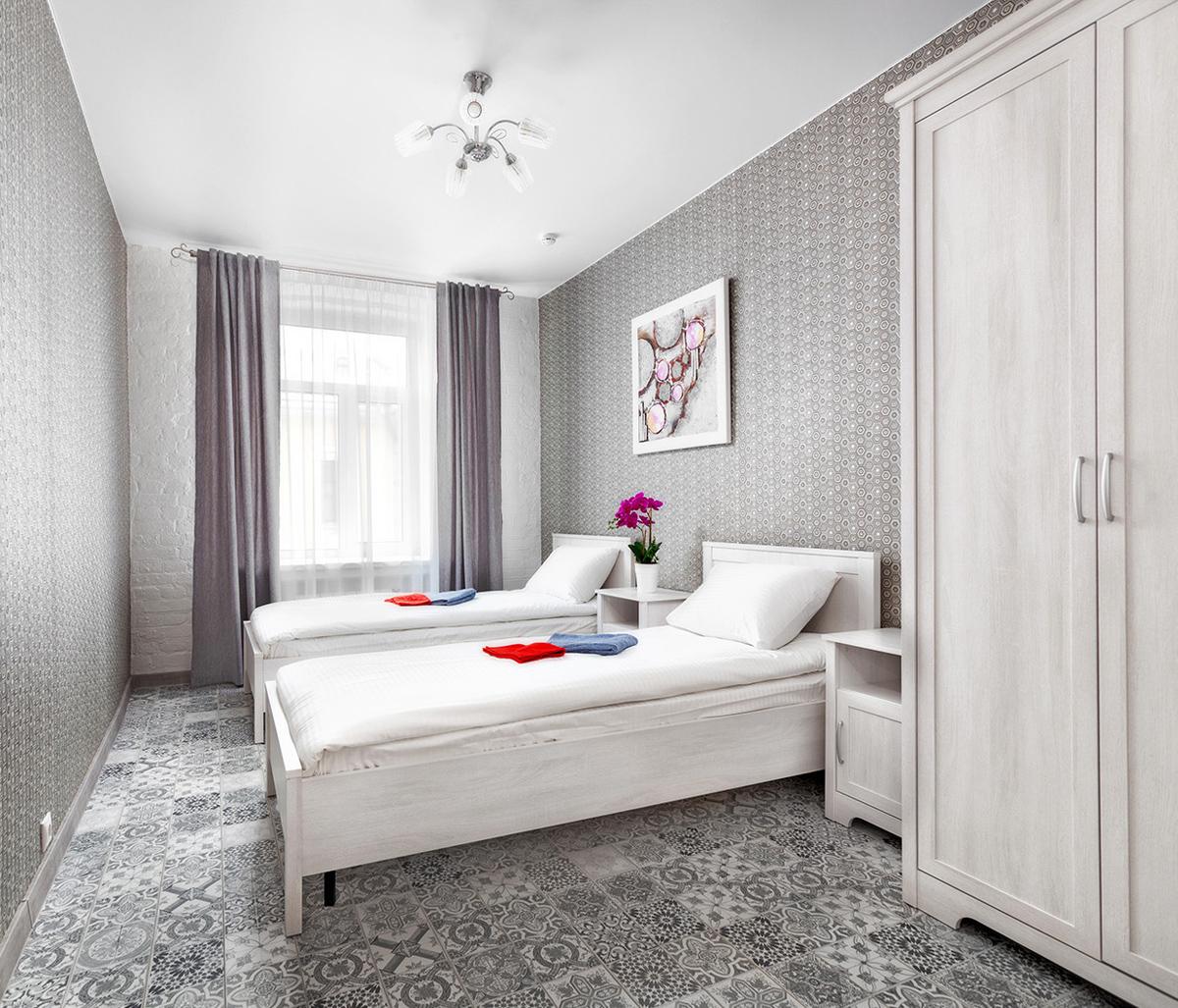 Двухместный номер с 2 раздельными кроватями