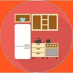 Оснащенная мини-кухня